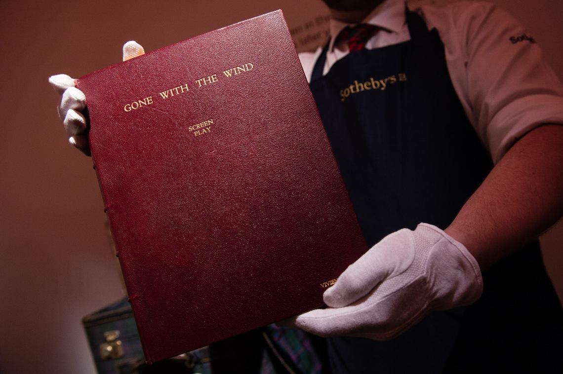 Sotheby's Vivien Leigh Press Call